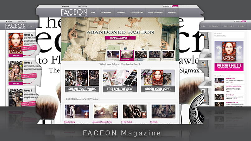 FACEON Magazine - Website